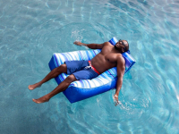 Floating pool chairs